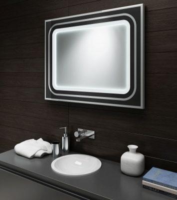 Stylowe-Lustro-w-ramie-LED-Lustro-podświetlane-Halo