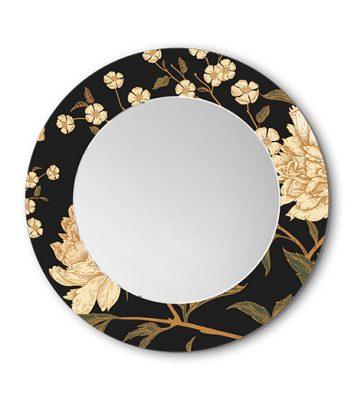 Lustra Dekoracyjne Okrągłe Peony Flowers1