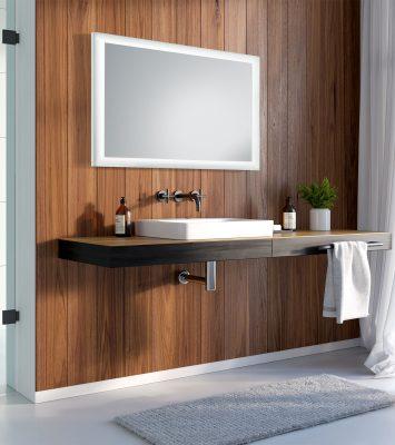 Lustra Łazienkowe Podświetlane Aida LED do twojej klimatycznej łazienki