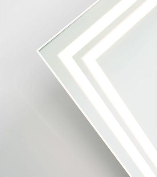Lustro Double Line Podswietlenie